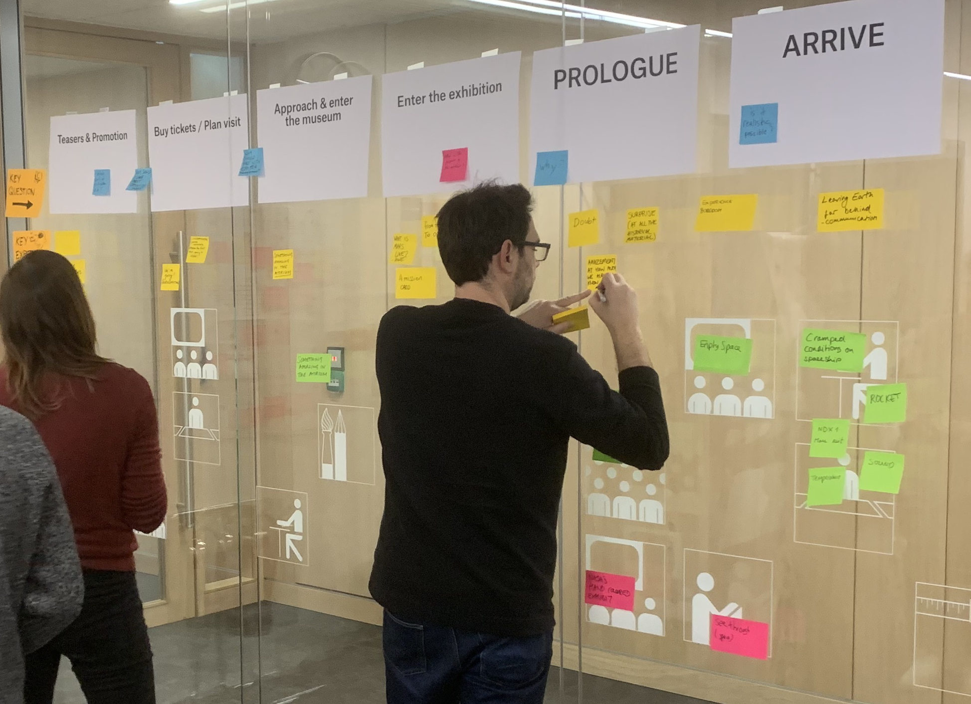 Journey mapping Mars expeditie