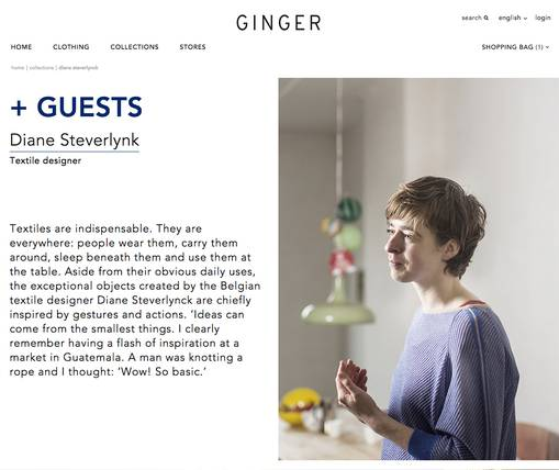 Ginger design scherm door Fabrique