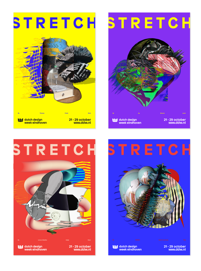 Dutch Design Week 2017 - posters door Fabrique