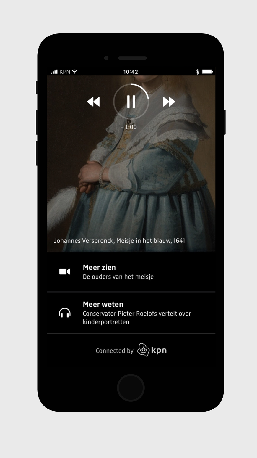 Rijksmuseum  multimedia tour - design Fabrique