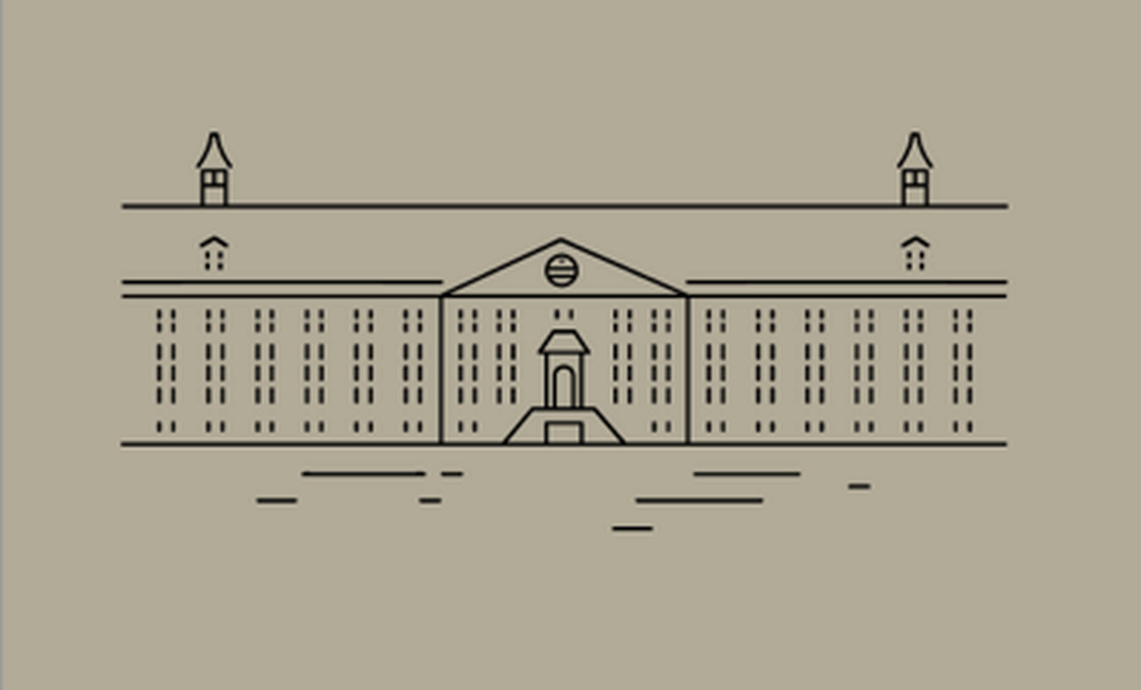 Hermitage Amsterdam - illustration by Fabrique